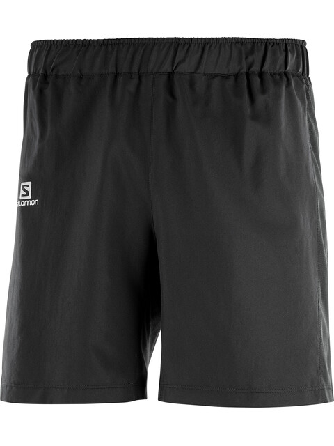 "Salomon Agile Shorts Men 7"" Black"